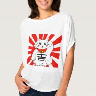 Lucky Cat- Maneki Neko - Beckoning T-Shirt