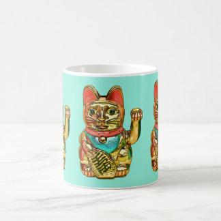 Lucky cat, Maneki-neko Coffee Mug