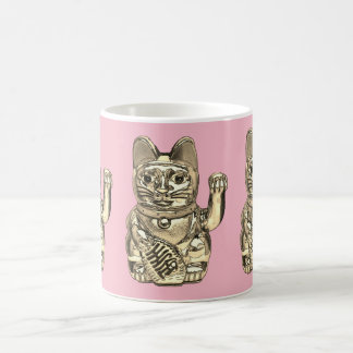 Lucky cat, Maneki-neko Coffee Mug