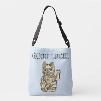 Lucky cat, Maneki-neko Crossbody Bag