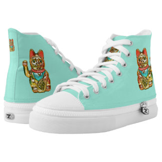 Lucky cat, Maneki-neko High Tops