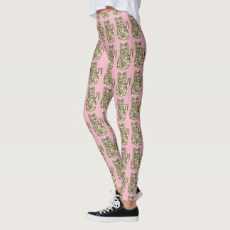 Lucky cat, Maneki-neko Leggings