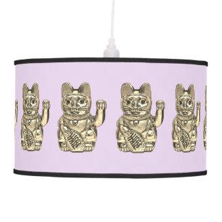 Lucky cat, Maneki-neko Pendant Lamp