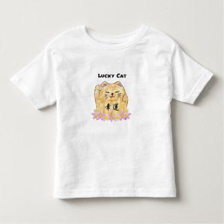Lucky Cat (Maneki Neko) Toddler Jersey T-Shirt
