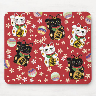 Lucky Cat Mousepad