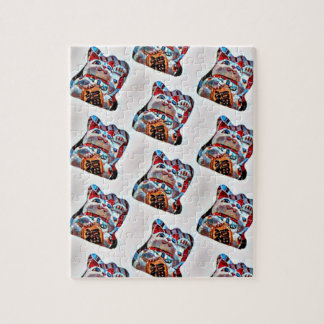 Lucky Cat Power Jigsaw Puzzle