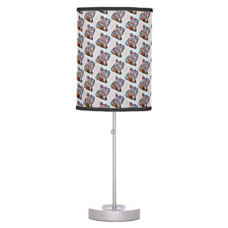 Lucky Cat Power Table Lamp