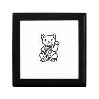 Lucky cat shirt design 2 gift box