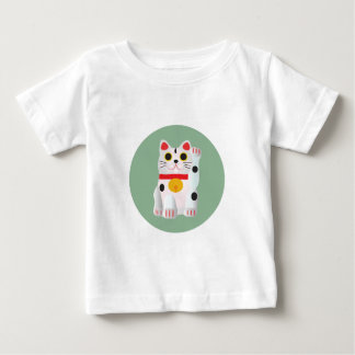 Lucky cat the cat of the fortune baby T-Shirt