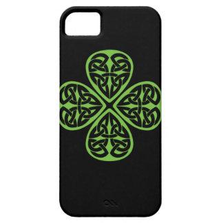 Lucky Celtic Design 4 leaf shamrock iphone4 iPhone 5 Case