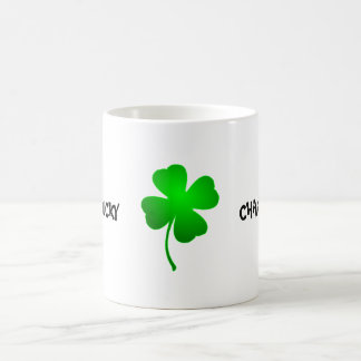 Lucky Charm Four Leaf Clover Mug