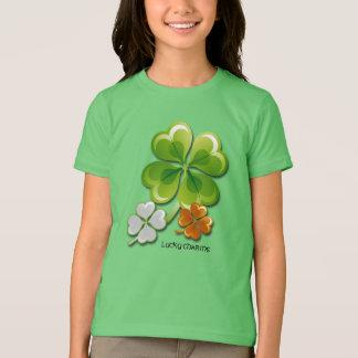 Lucky Charms. Shamrocks St. Patrick's Day T-Shirts