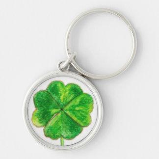 Lucky Clover Keychain