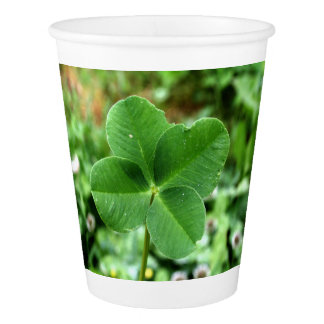 Lucky Clover Paper Cup