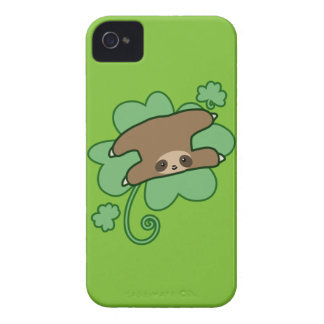 Lucky Clover Sloth Case-Mate iPhone 4 Case
