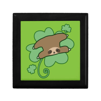 Lucky Clover Sloth Gift Box
