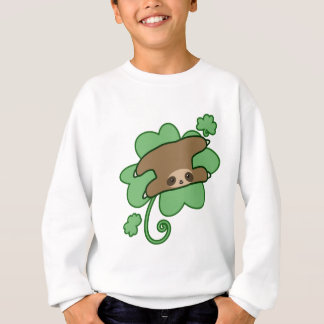 Lucky Clover Sloth Sweatshirt