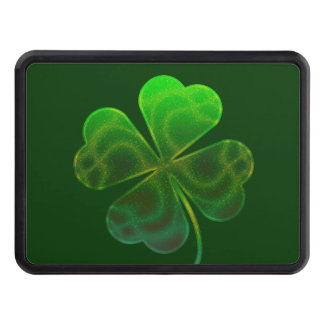 Lucky Clover Trailer Hitch Cover