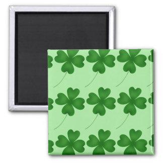 Lucky Clovers pattern Magnet