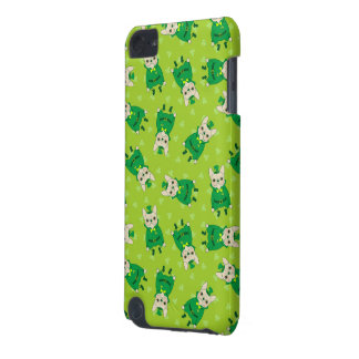 Lucky Cute Frenchie on St. Patrick's Day iPod Touch 5G Cases