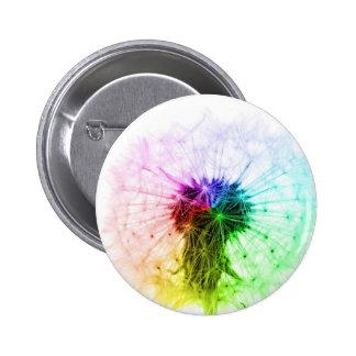 Lucky Dandelion! 2 Inch Round Button