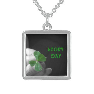 Lucky Day Four Leaf Clover Necklace