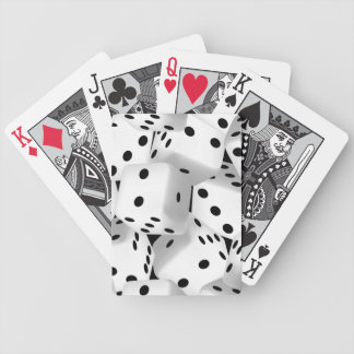 Lucky dice bicycle playing cards