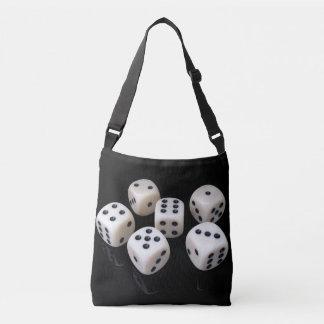 lucky dice crossbody bag