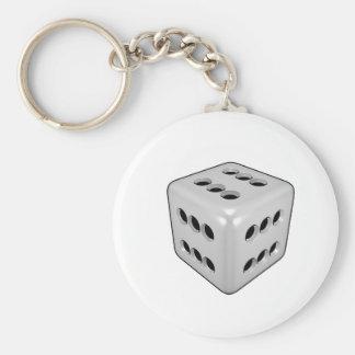 Lucky Dice Keychain