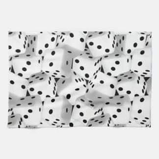Lucky dice kitchen towel