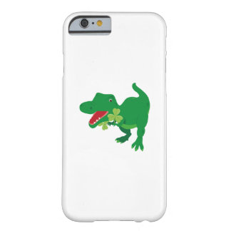 Lucky Dinosaur Shamrocks Kids St. Patrick's Day Barely There iPhone 6 Case