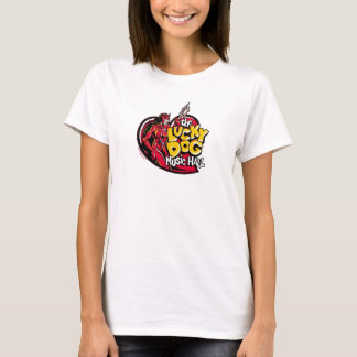 Lucky Dog Devil Girl T-Shirt