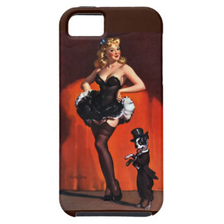Lucky Dog Pin Up iPhone 5 Cover