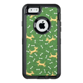 lucky dogs with bones background OtterBox iPhone 6/6s case