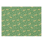 lucky dogs with bones background tablecloth