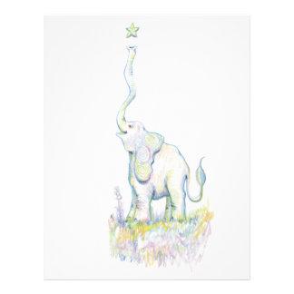 Lucky Elephant Customized Letterhead