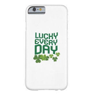 Lucky Every Day St. Patrick's Day Cute Barely There iPhone 6 Case