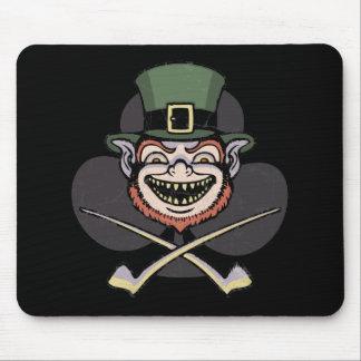 Lucky Evil Leprechaun Mouse Pad