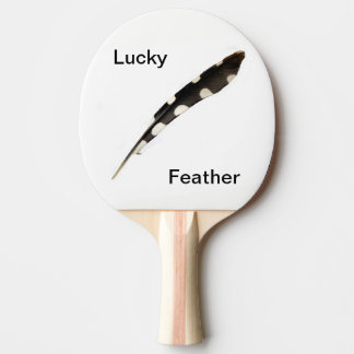 Lucky Feather Ping Pong Paddle