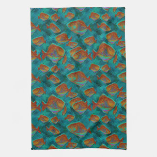 Lucky Fishing Kitchen Towels