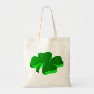 Lucky Four Leaf Clover Green Symbol Good Luck Tote Bag