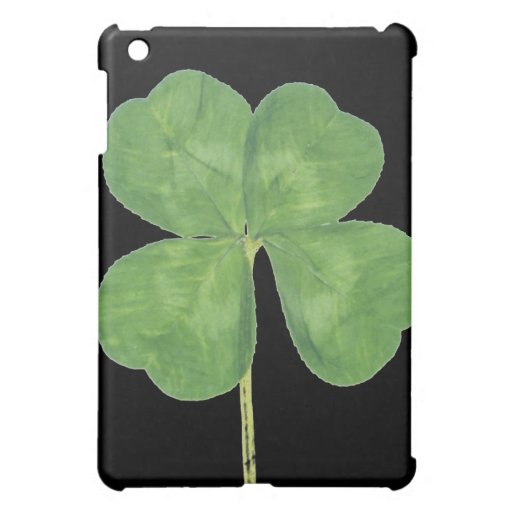 Lucky Four-Leaf Clover Shamrock iPad Speck Case Cover For The iPad Mini