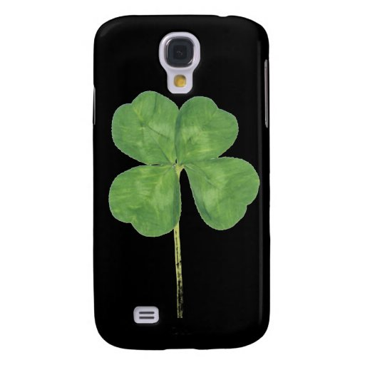 Lucky Four-Leaf Clover Shamrock iPhone 3 3G Case Galaxy S4 Covers