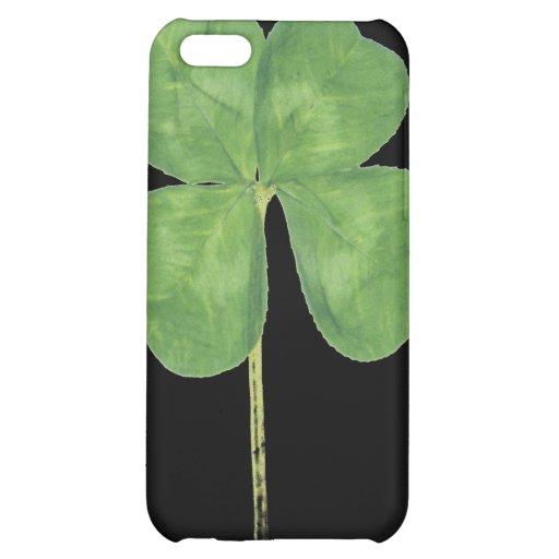 Lucky Four-Leaf Clover Shamrock iPhone 4 Case