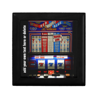 Lucky Gambler Slot Machine Gift Box