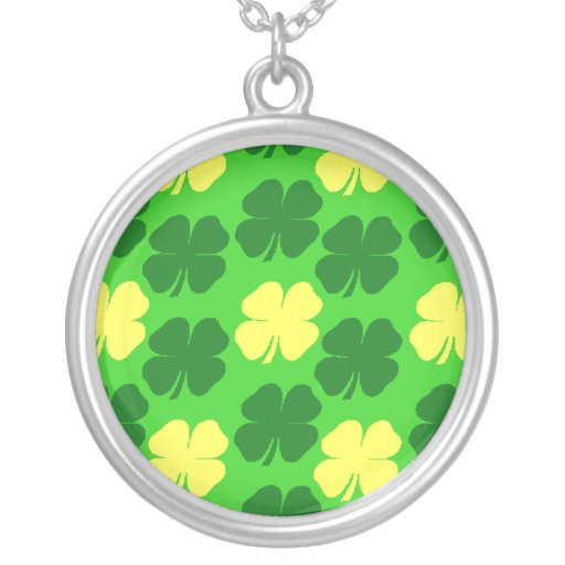 Lucky Golden Shamrocks Custom Jewelry