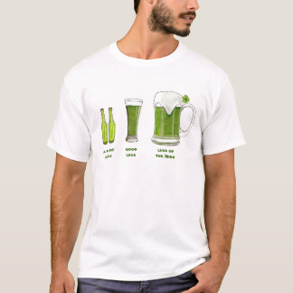 Lucky Green Beers T-Shirt