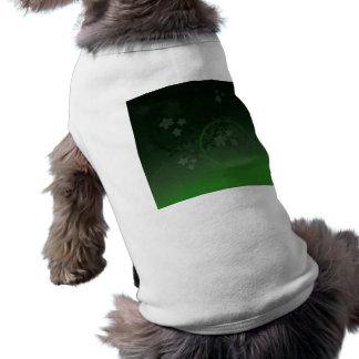 Lucky Green Dog Shirt
