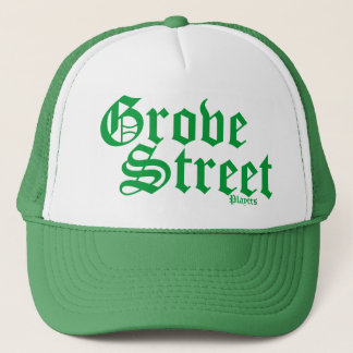 Lucky Green Grove Street Trucker Hat