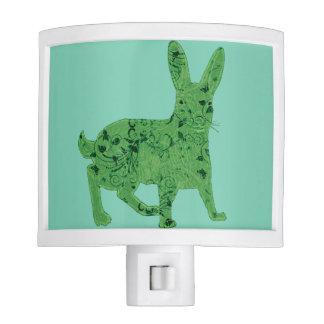 Lucky Green Hare | nightlight Nite Light